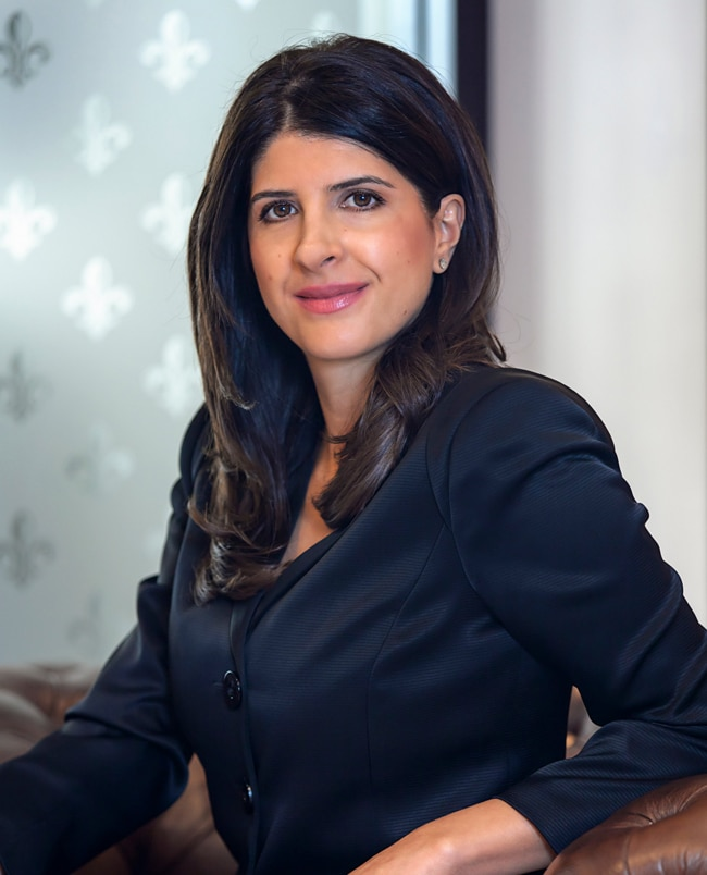 Laudy Lahdo, General Manager, Servcorp Middle East